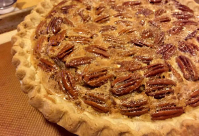 Texas Bourbon Pecan Pie