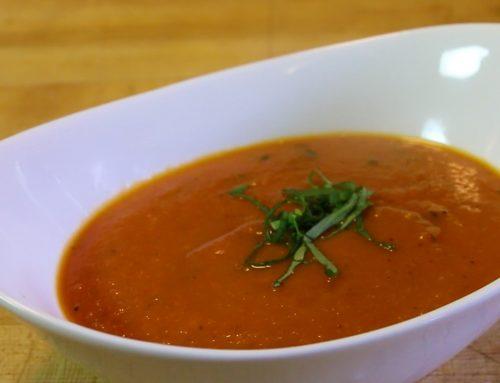 Pressure Cooker Tomato Basil Soup