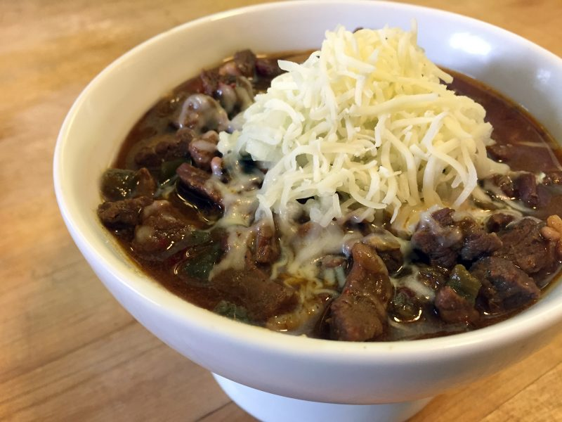 WayneBite Pressure Cooker Texas All Beef Chili