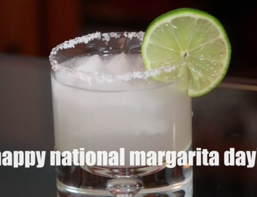 The Double Margarita For National Margarita Day!