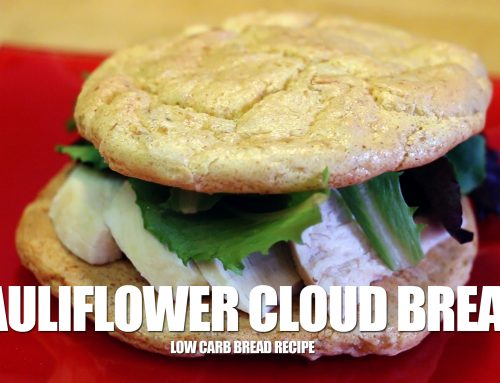Low Carb Cauliflower Cloud Bread