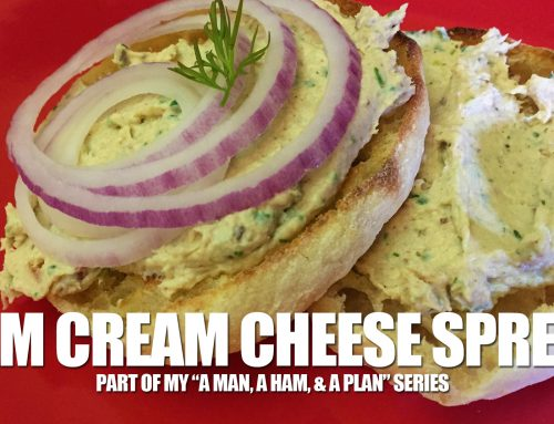 Ham Spread with Cream Cheese, Dill, Thyme & Dijon