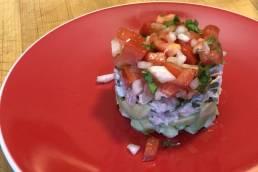 WayneBite Tuna Avocado Stack